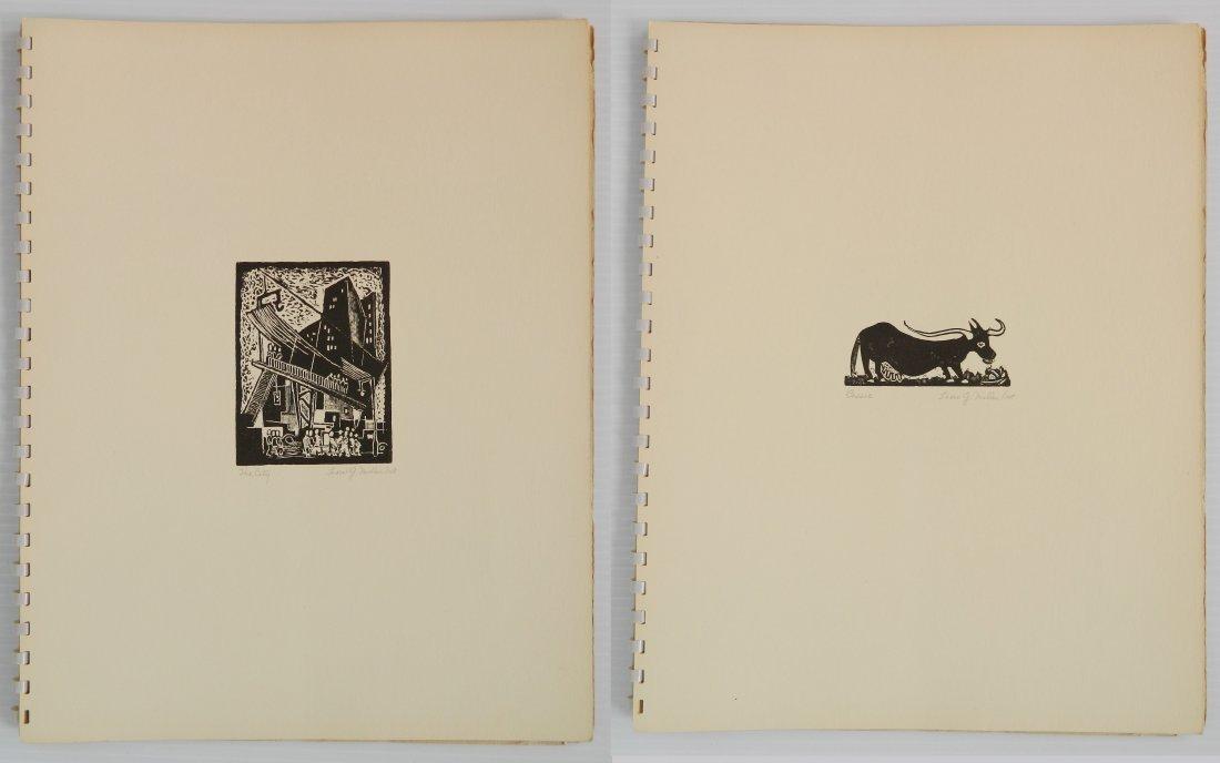 Leon Gordon Miller- ''10 Intaglio Prints'' - 5