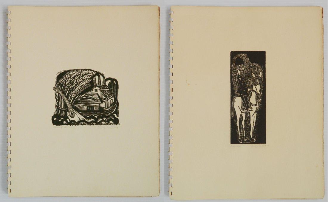 Leon Gordon Miller- ''10 Intaglio Prints'' - 6