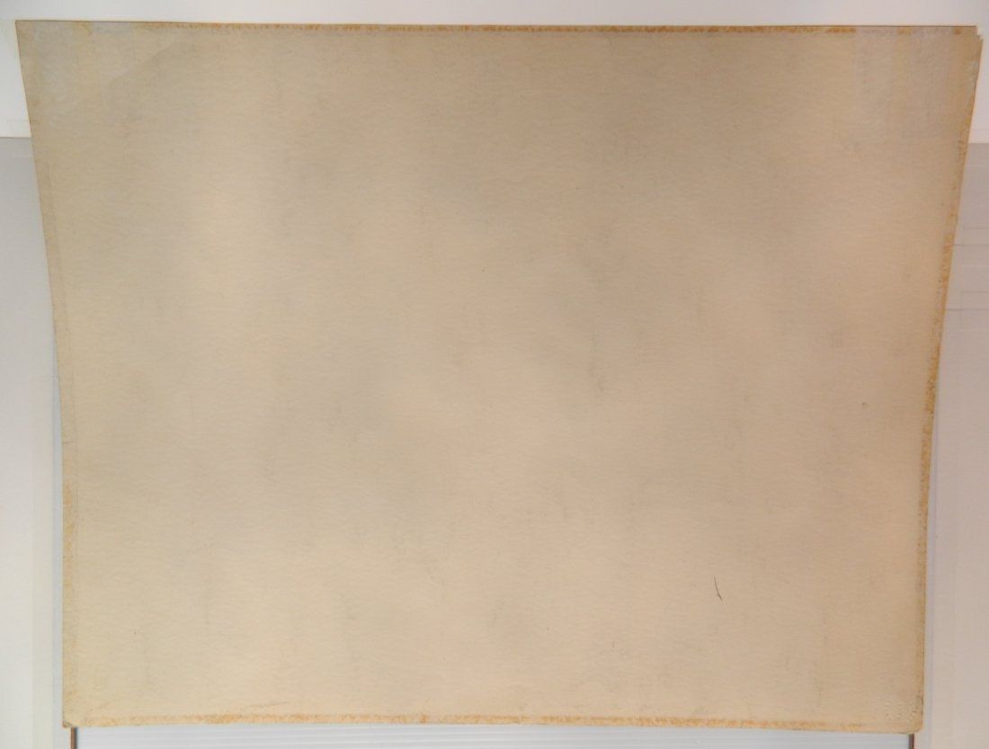 Frank N. Wilcox watercolor - 3