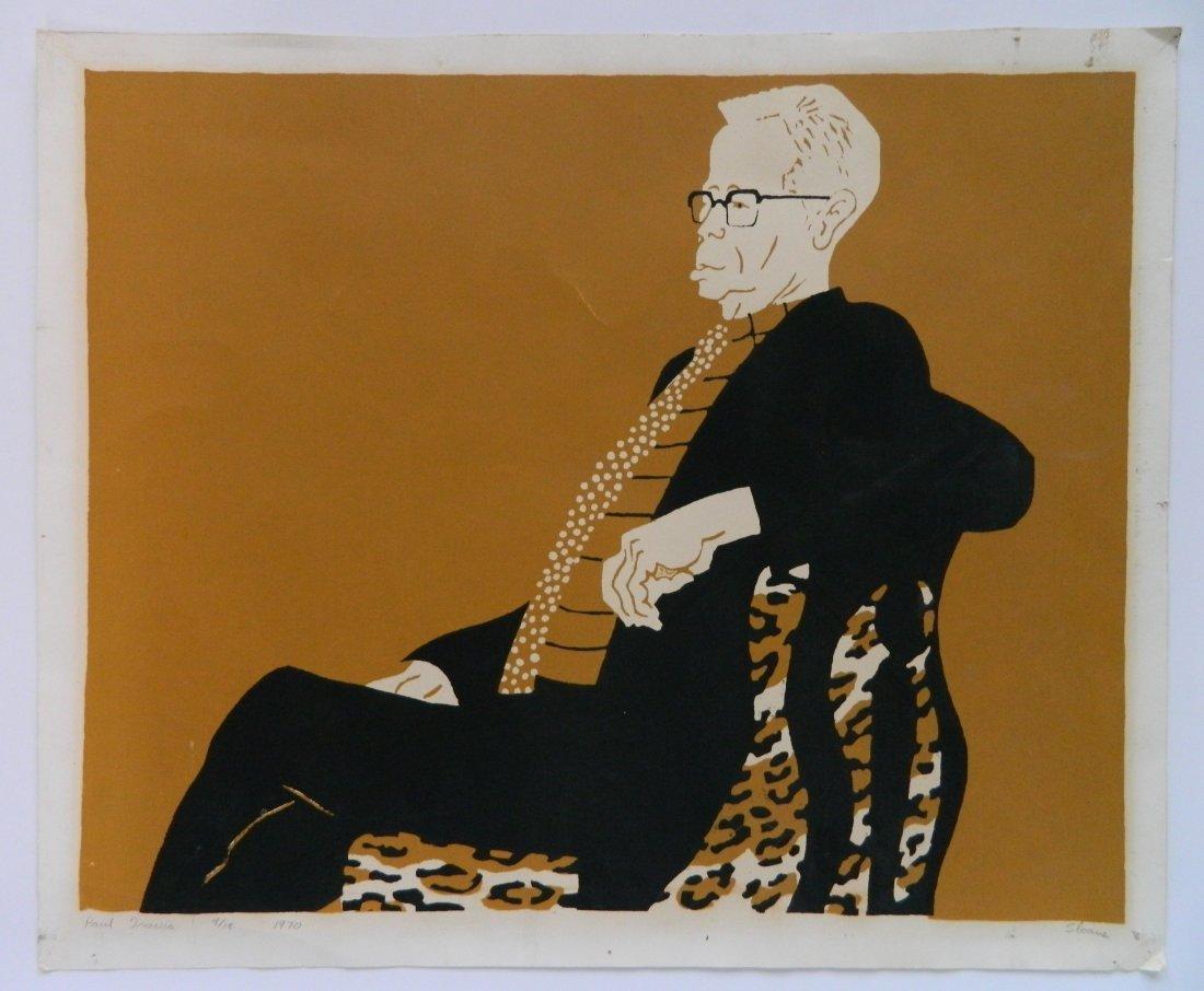Phyllis Sloane silkscreen - 2