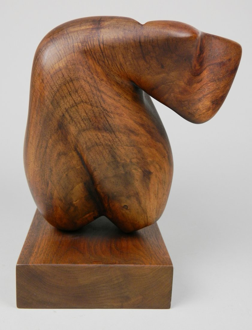 Lois Strassburg wood sculpture - 4