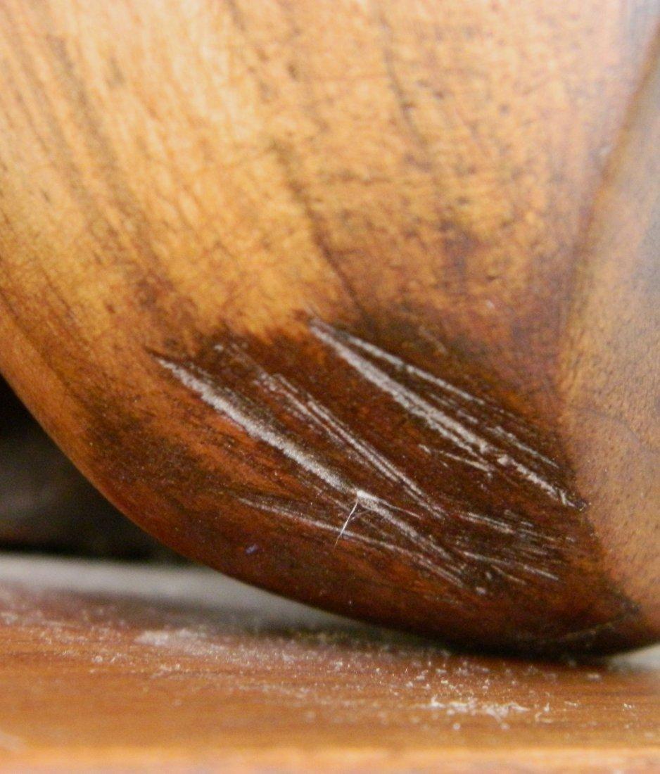 Lois Strassburg wood sculpture - 7