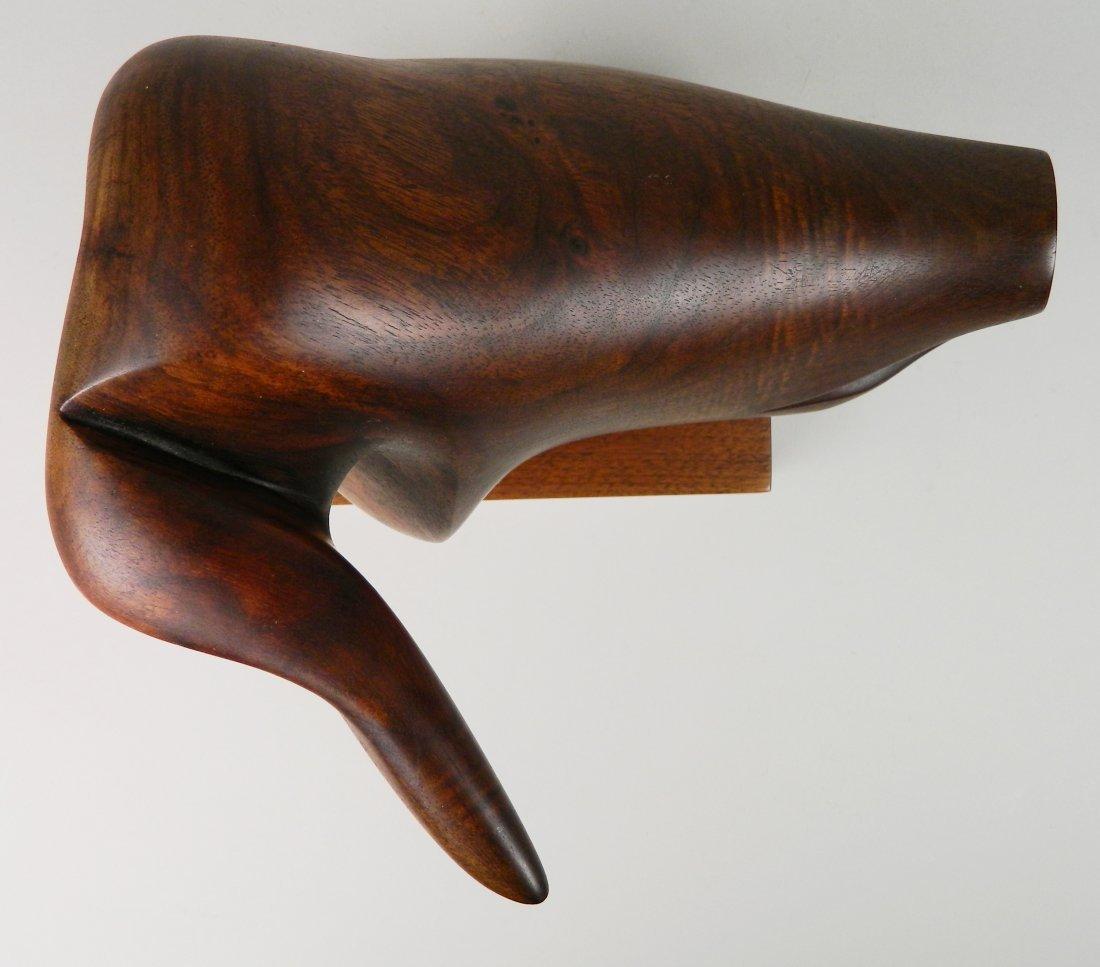 Lois Strassburg wood sculpture - 8