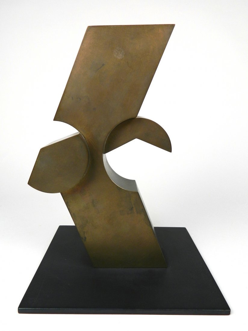 David E. Davis bronze sculpture