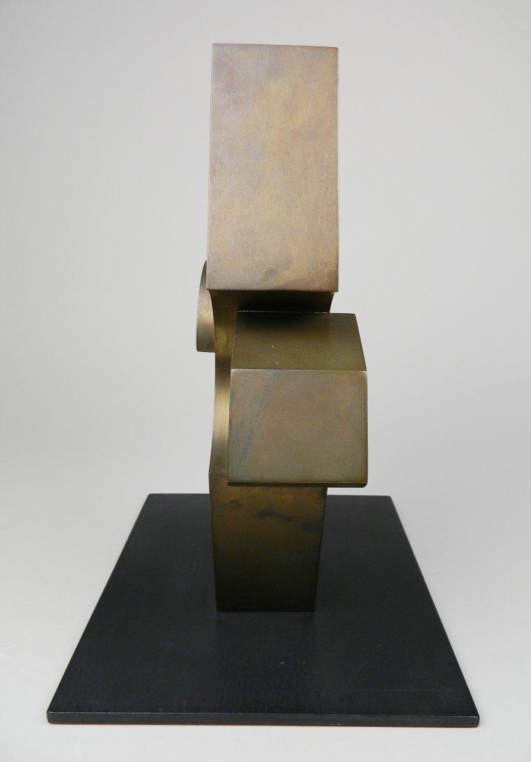 David E. Davis bronze sculpture - 2
