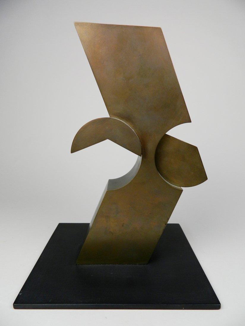David E. Davis bronze sculpture - 3