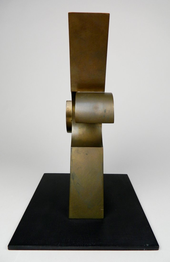 David E. Davis bronze sculpture - 4