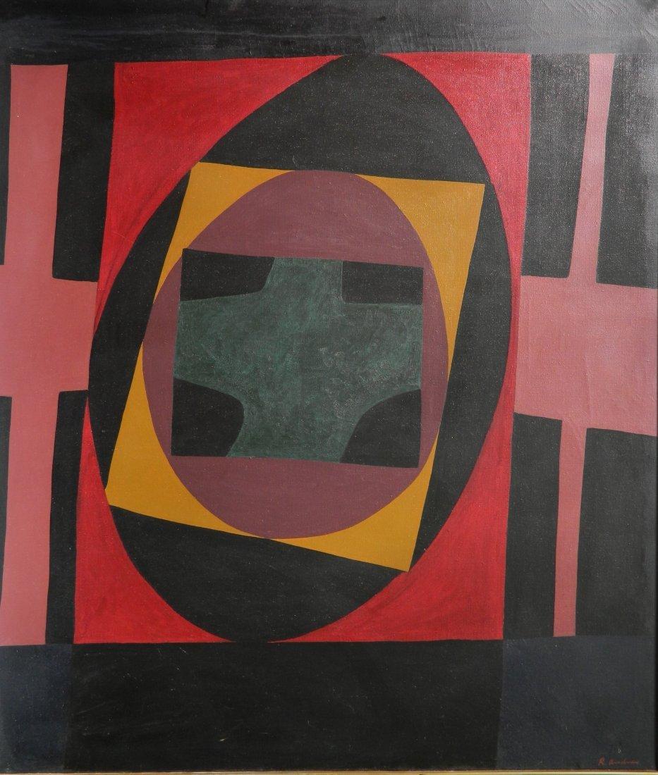 Richard Andres acryllic