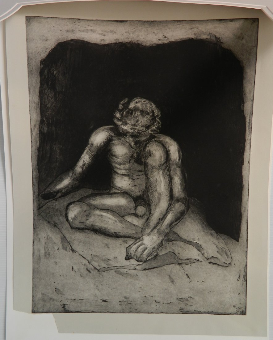 Edward H. (Ted) Frost etching and aquatint - 2