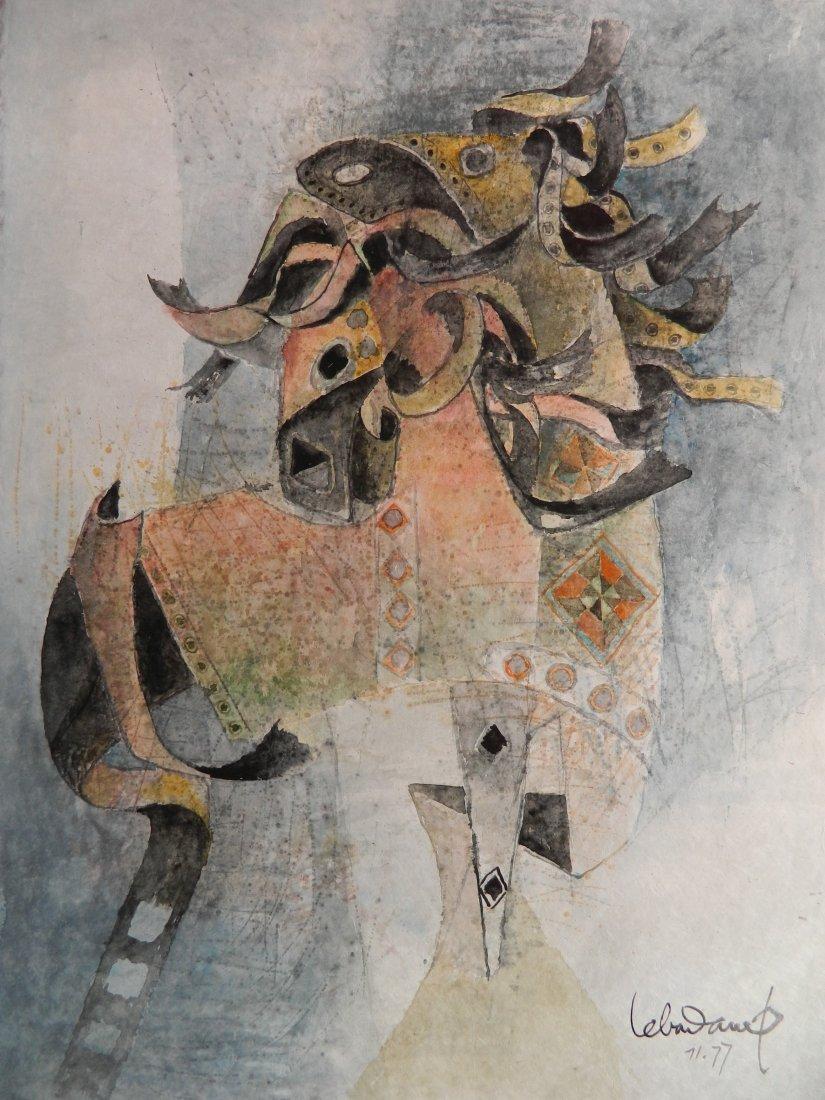 Hoi Lebadang watercolor