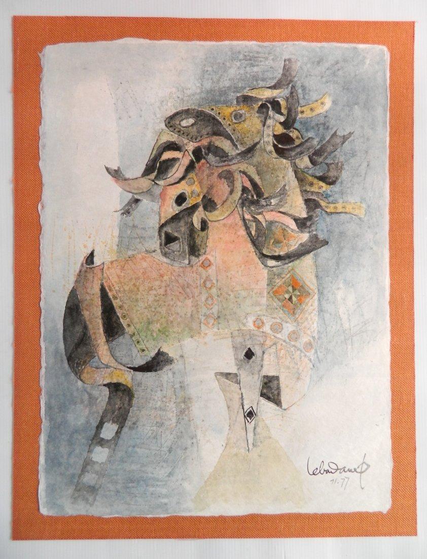 Hoi Lebadang watercolor - 2