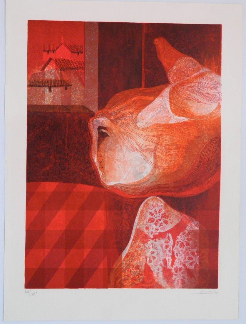 Sunol Alvar lithograph - 10