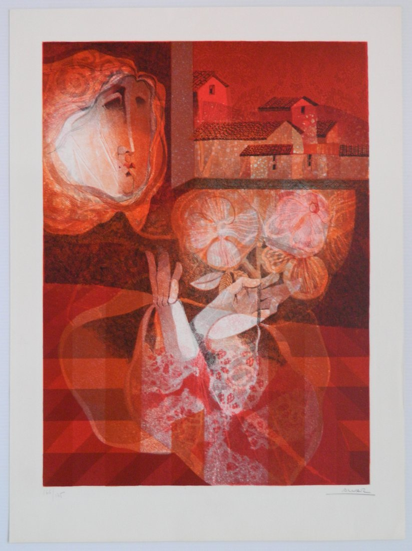 Sunol Alvar lithograph - 3