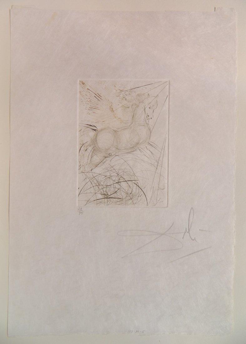 Salvador Dali etching - 4