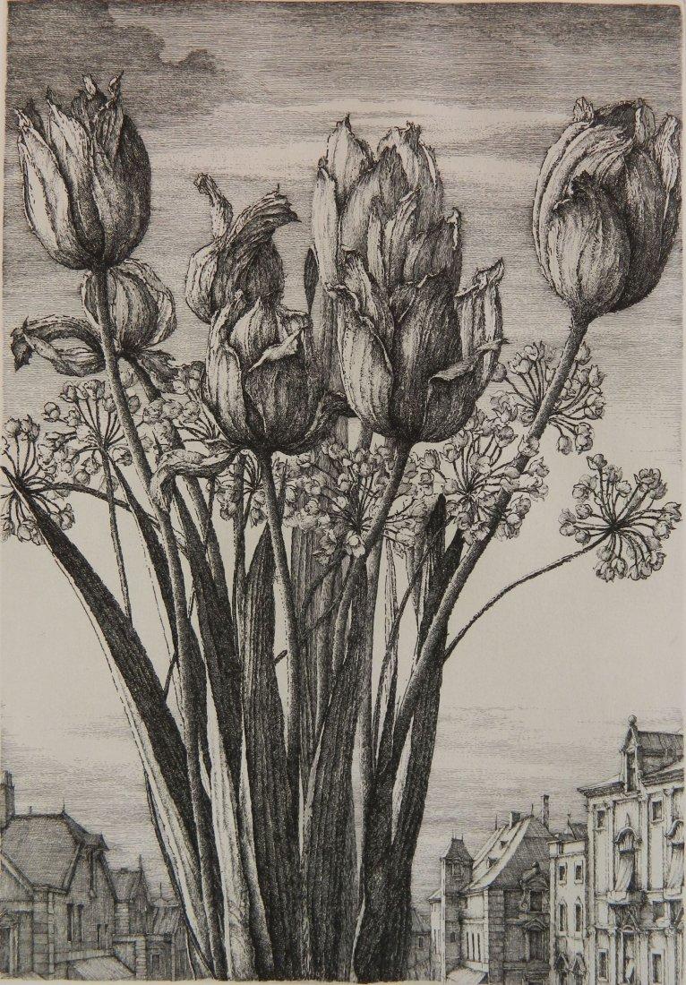 Erik Desmazieres etching