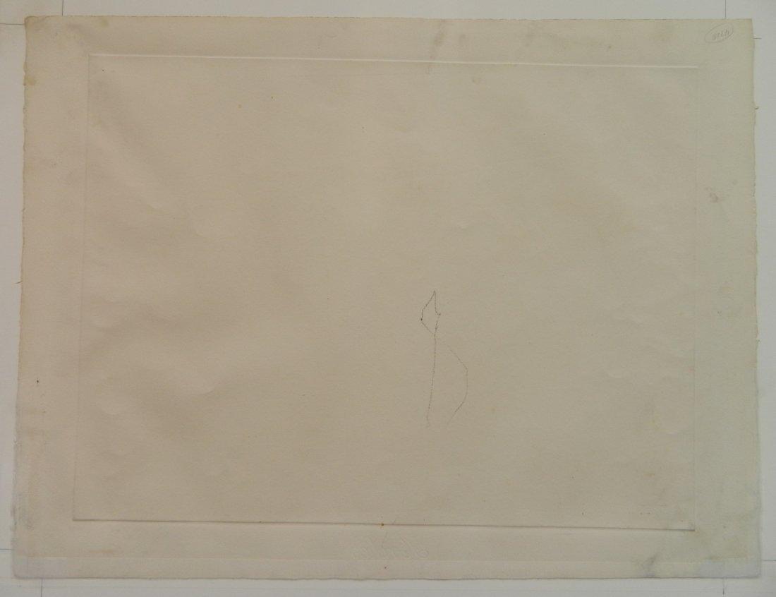 Roberto Matta etching - 4