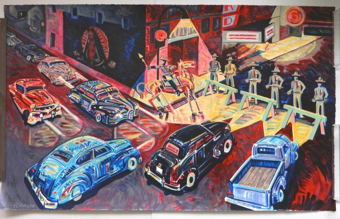 Frank Romero silkscreen - 2