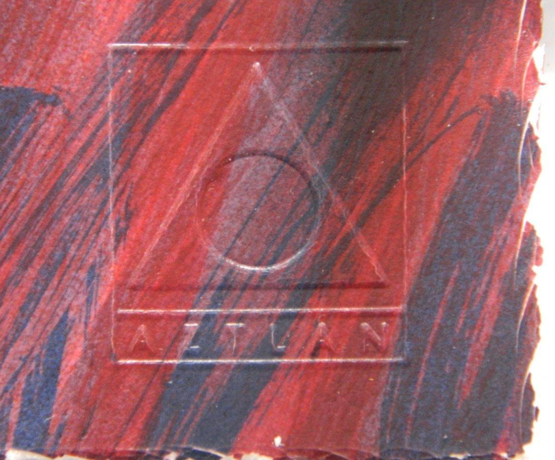 Frank Romero silkscreen - 4