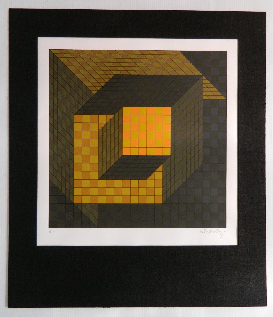 Victor Vasarely silkscreen - 2