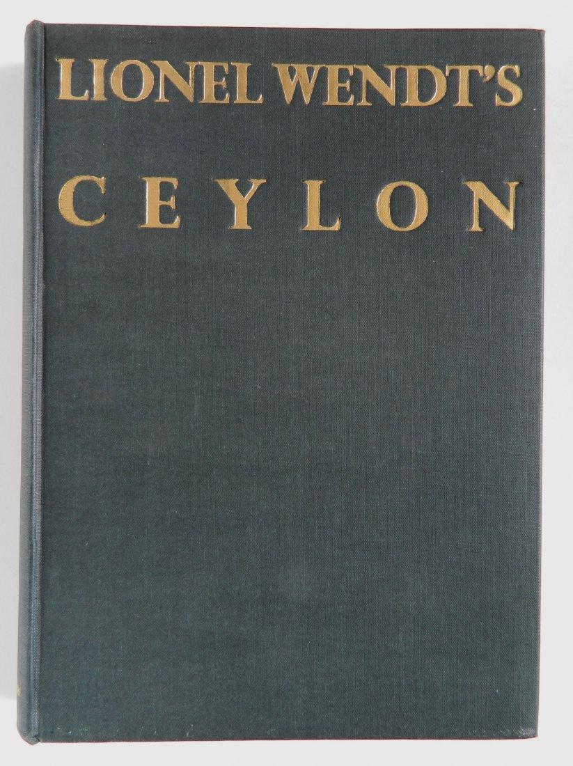 Wendt- Lionel Wendt's Ceylon