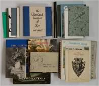 Lot of Books on Ohio Art