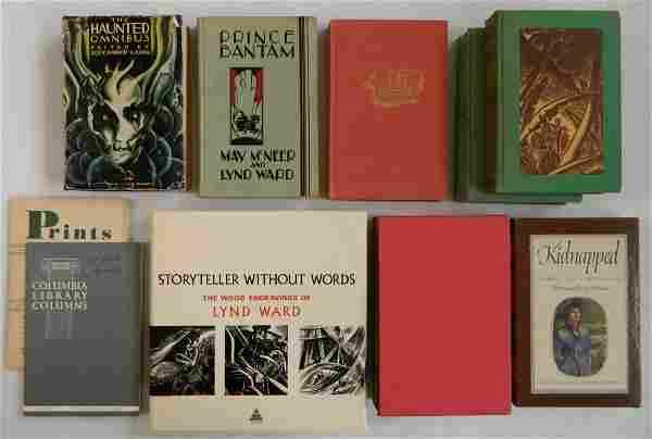 Lot of 8 Books - Lynd Ward