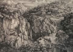 Dirk Van Gelder etching