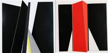 Jean Baier 2 silkscreens