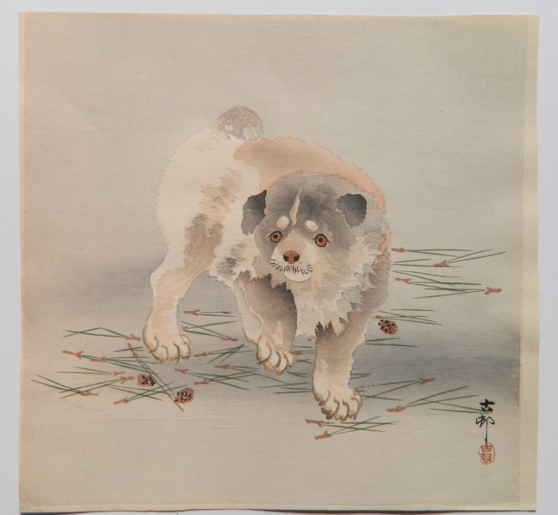 5 Japanese Shin Hanga woodcuts - 2