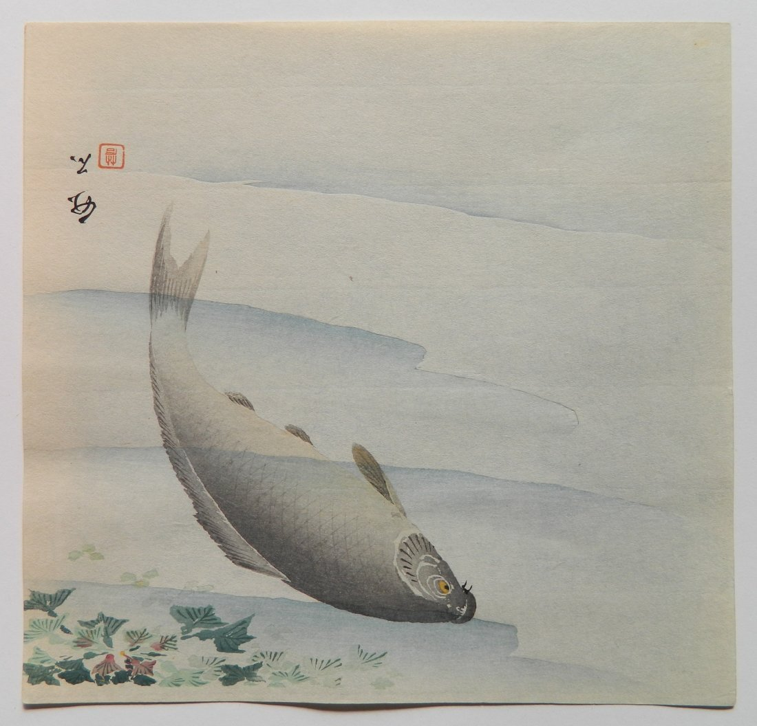 5 Japanese Shin Hanga woodcuts - 5