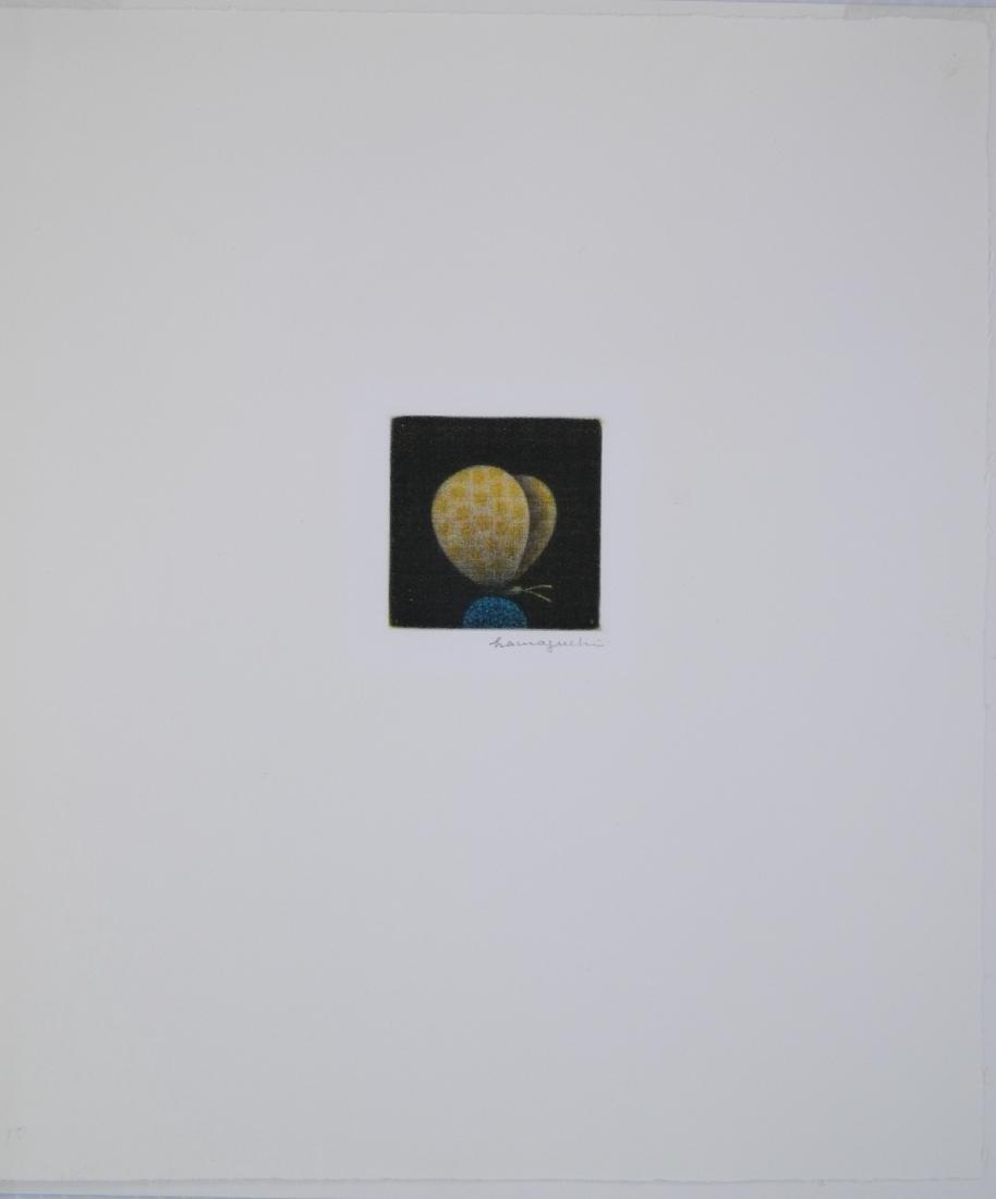 Yozo Hamaguchi mezzotint - 2
