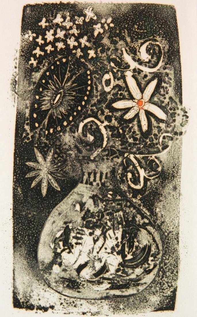 Kenji Ushiku 2 etchings - 5
