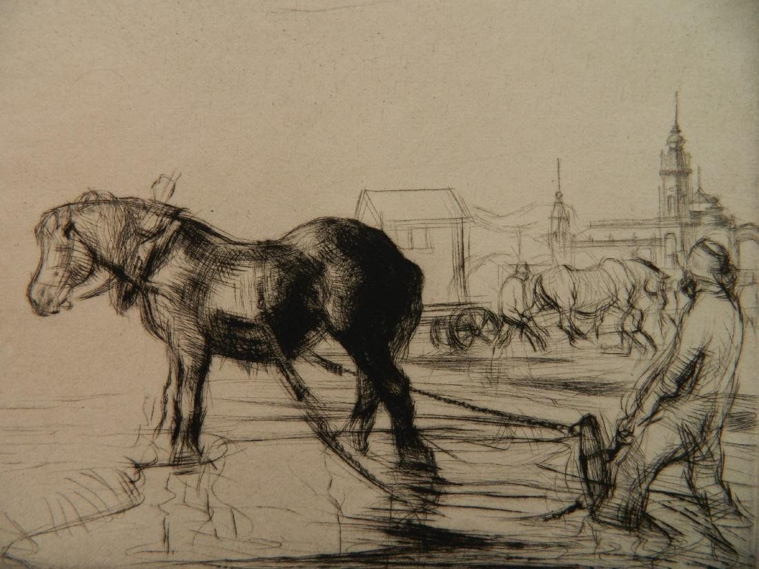 Edmund Blampied etching