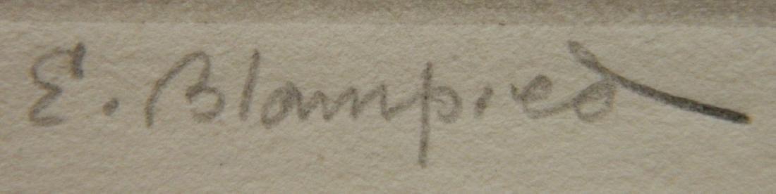 Edmund Blampied etching - 3