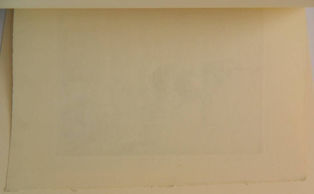 Edmund Blampied etching - 4