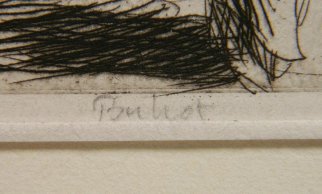 Felix Buhot etching - 3