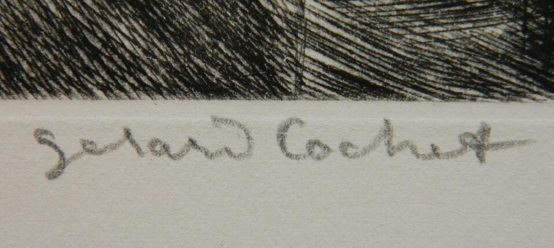Gerard Cochet etching - 3
