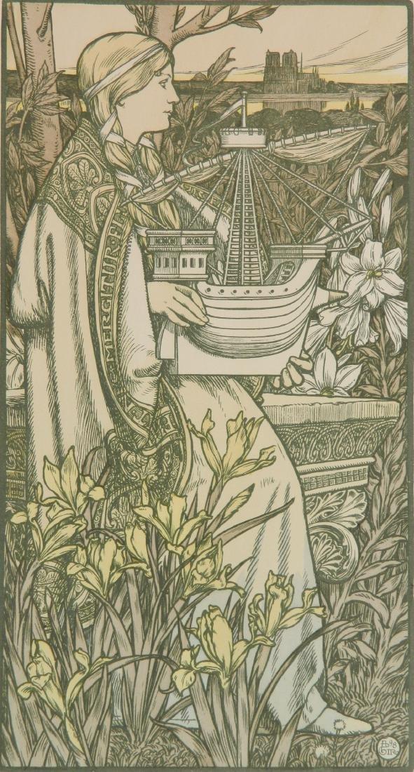 Adolph Giraldon lithograph