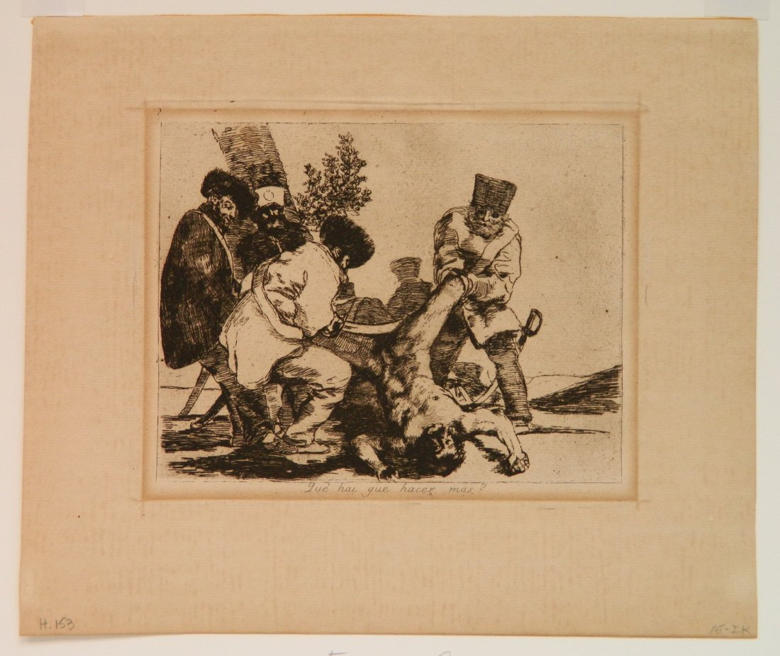 Francisco Goya 6 etchings - 2