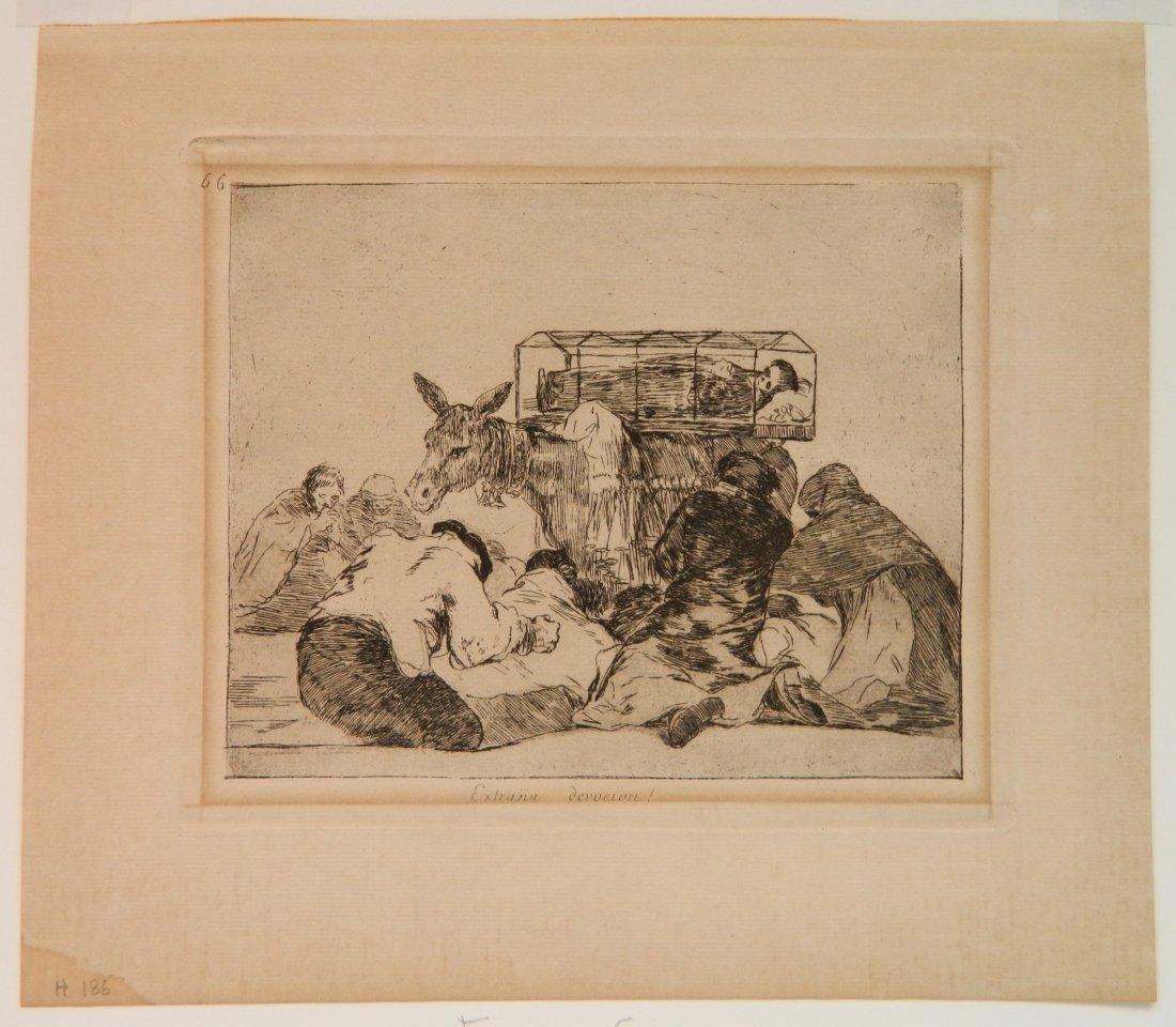Francisco Goya 6 etchings - 4