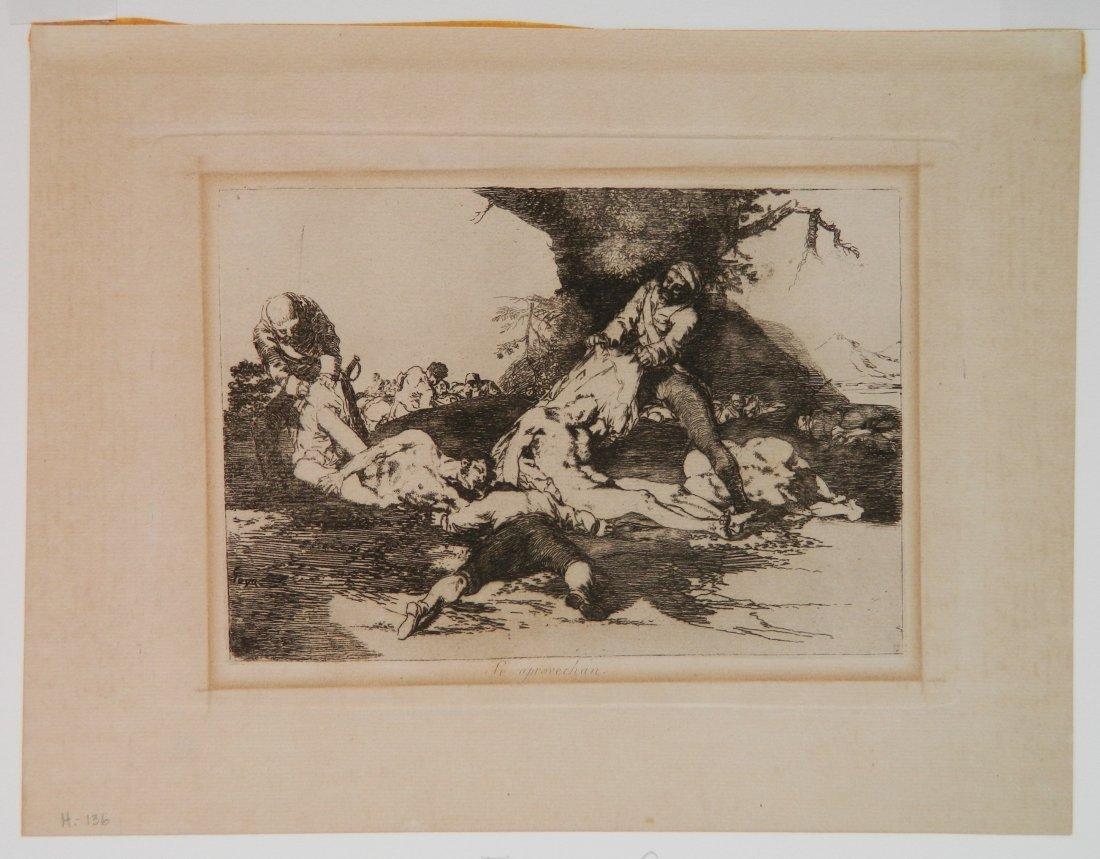 Francisco Goya 6 etchings - 6