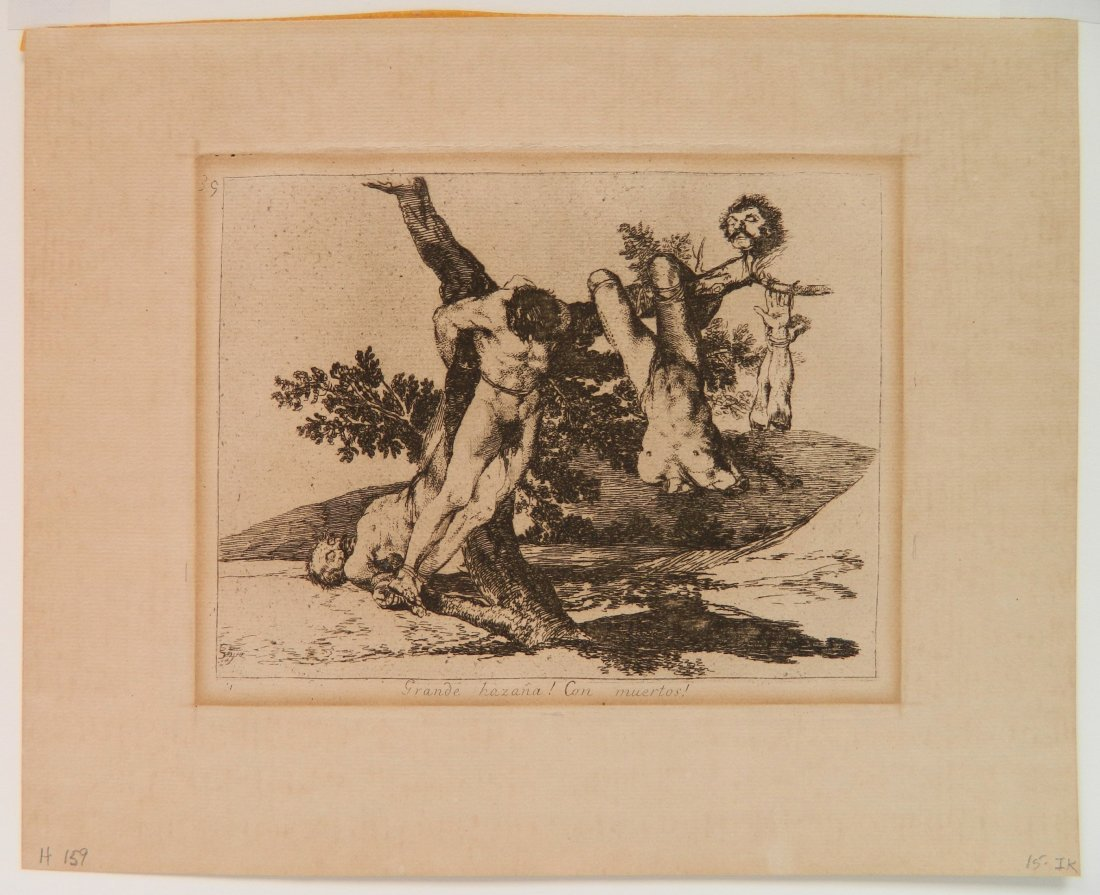 Francisco Goya 6 etchings - 7