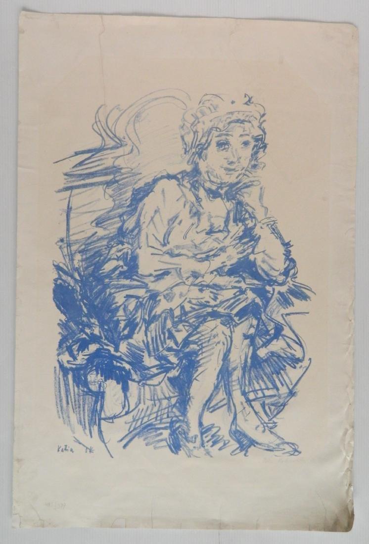 Oscar Kokoschka lithograph - 2