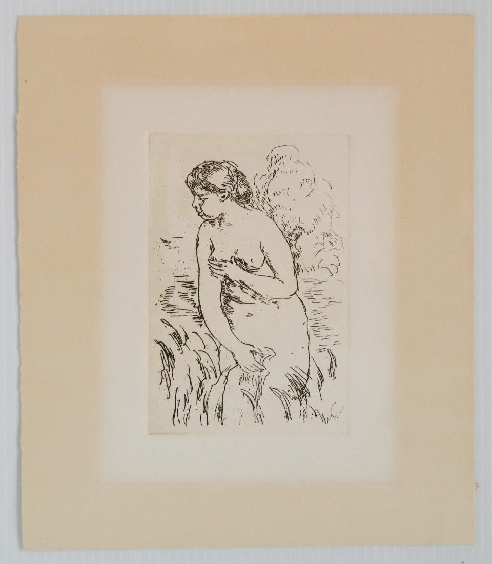 Pierre Auguste Renoir 1 lithograph and 1 etching - 3