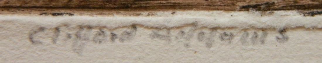Clifford Addams etching - 3