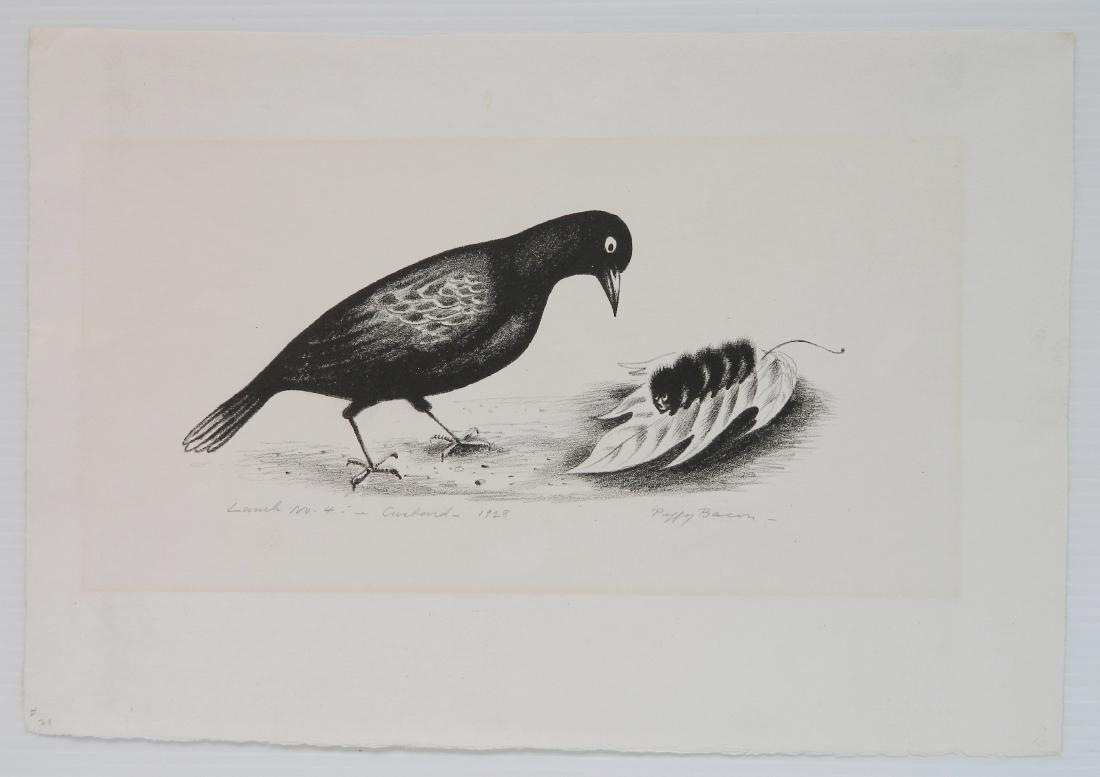 Peggy Bacon lithograph - 2