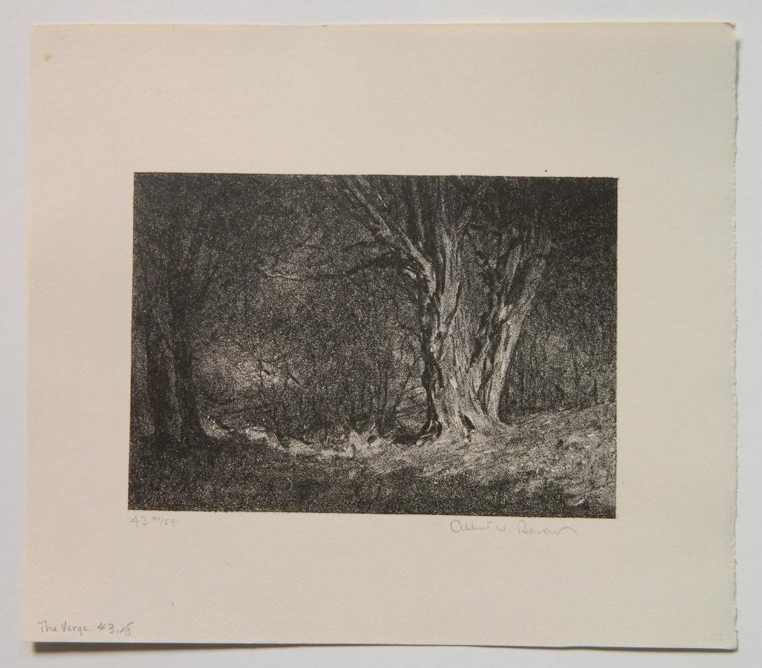 Albert Barker 6 lithographs - 3
