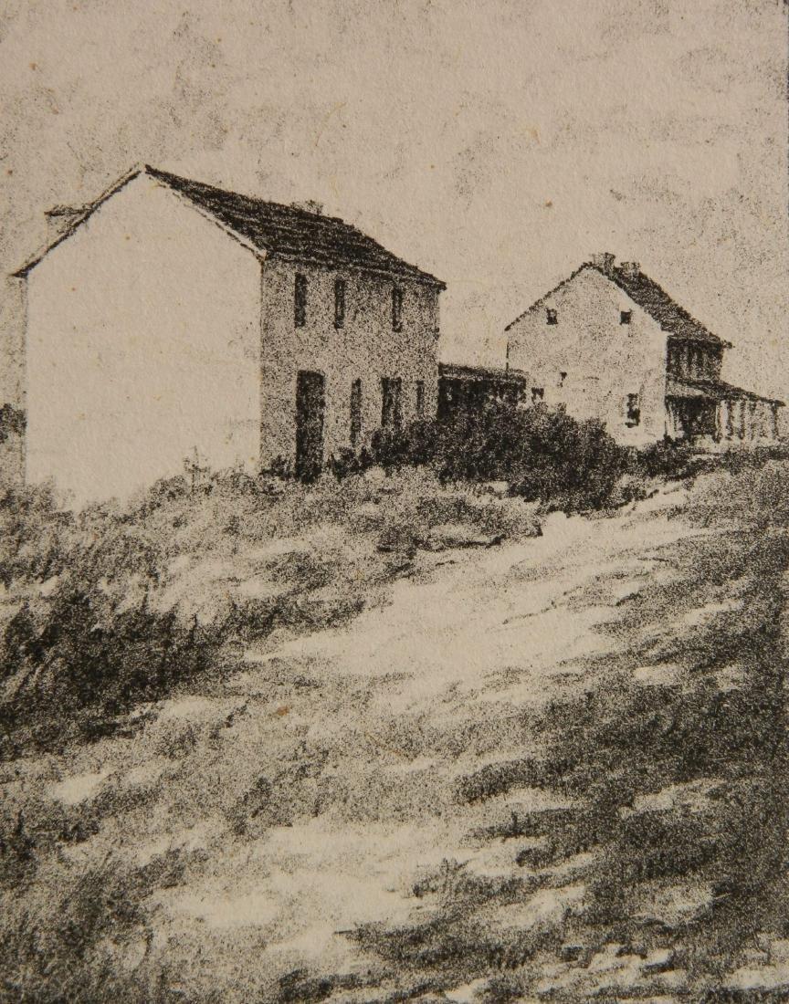 Albert Barker 6 lithographs - 6