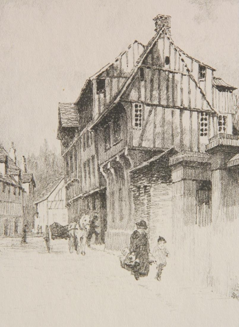 Albert Barker 6 lithographs - 7