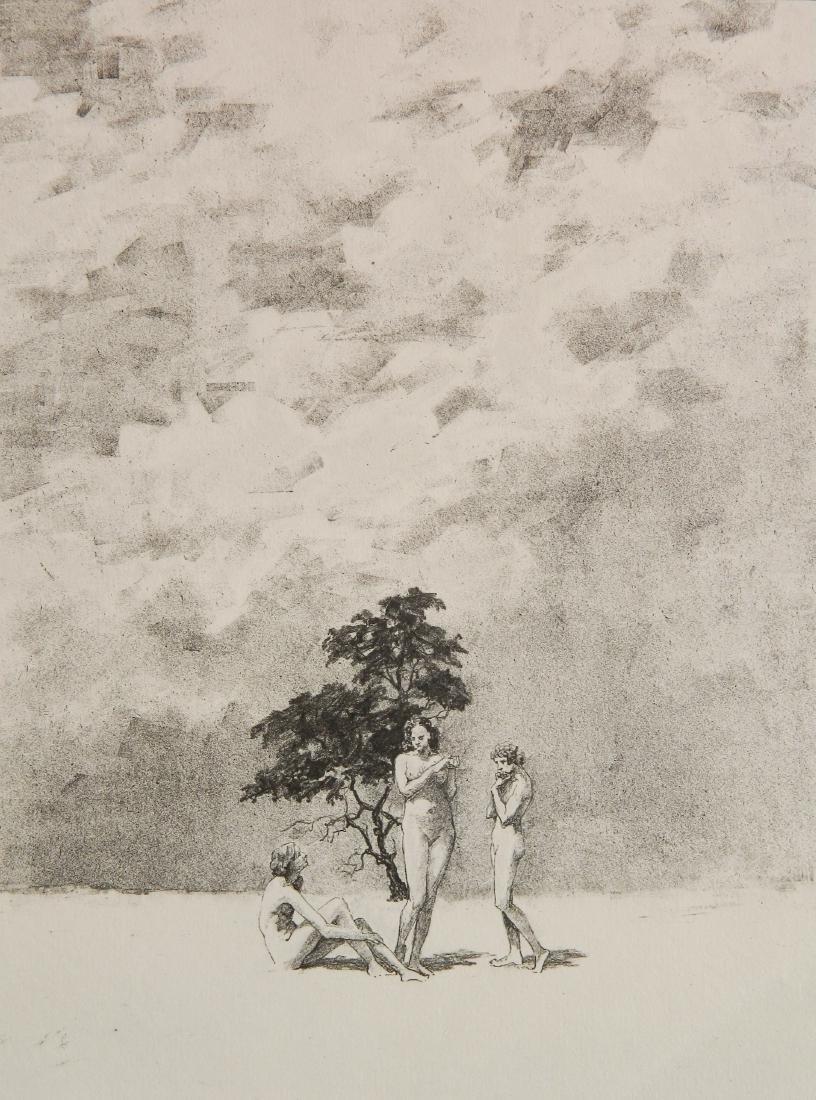Albert Barker 6 lithographs - 8